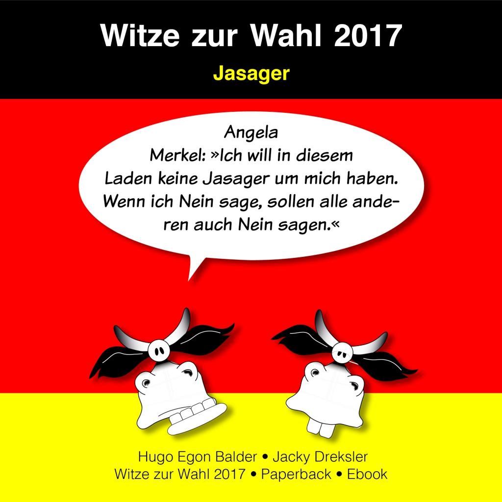 Angela Merkel: »Ich will in diesem Laden keine Jasager um mich haben. Wenn ich Nein sage, sollen alle anderen auch Nein sagen.«